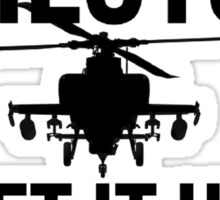 Helicopter Pilots GIUF Sticker