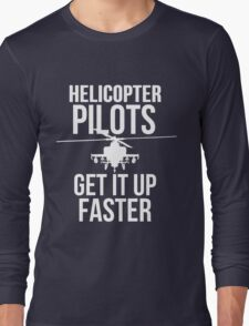 Helicopter Pilots GIUF Long Sleeve T-Shirt