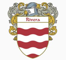Rivera Coat of Arms/Family Crest by William Martin