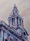 A Spire of Saint Paul's by JennyArmitage