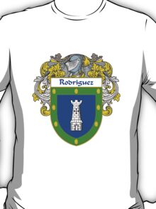 Rodriguez Coat of Arms/Family Crest T-Shirt