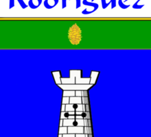 Rodriguez Coat of Arms/Family Crest Sticker