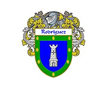 Rodriguez Coat of Arms/Family Crest Photographic Print
