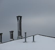 Winter Rooftop by Preston Sand