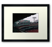 The Press Box Framed Print