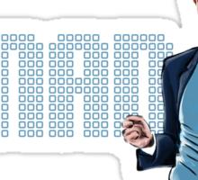 Conan O'Brien - Comic Timing Sticker