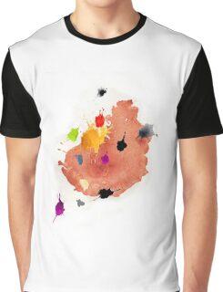 Abstract watercolor blots Graphic T-Shirt