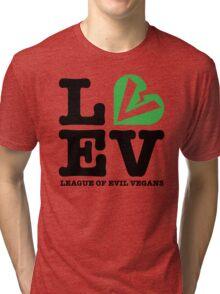 League of Evil Vegans Tri-blend T-Shirt