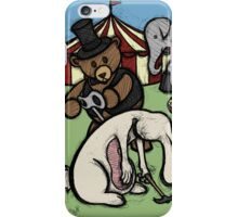 Teddy Bear And Bunny - Start The Madness Again iPhone Case/Skin