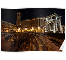 The Ampitheatre - Lecce Poster
