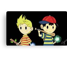 Lucas and Ness Canvas Print