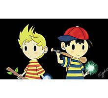 Lucas and Ness Photographic Print