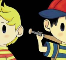 Lucas and Ness Sticker