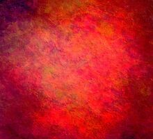 Crazy Red Abstract iPad Case Cool Grunge Texture by Denis Marsili - DDTK