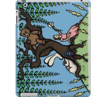 Teddy Bear And Bunny - Lazy Summer Day iPad Case/Skin