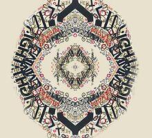 Radial Typography  by Elizabeth Aubuchon