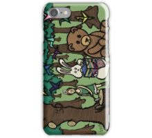 Teddy Bear And Bunny - Paper Swans iPhone Case/Skin