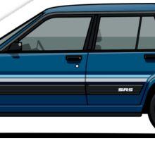 Toyota Tercel SR5 4WD Wagon AL25 (blue) Sticker