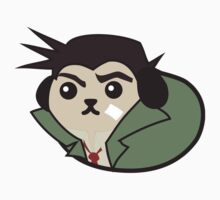 Mameshiba Gumshoe Phoenix Wright Bean Dog Ace Attorney Anime Videogame Japanese by MarioGirl64
