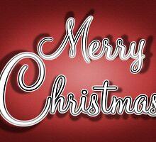 Merry Christmas Greetings Card by Ra12