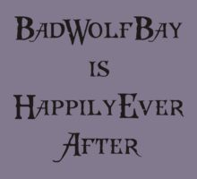 Dr. Who: Bad Wolf Bay by lpalsky