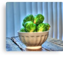 Brussels Sprouts II Canvas Print