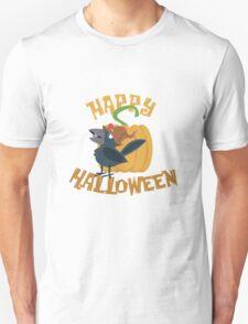 Little Halloween Crow Unisex T-Shirt