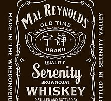 Mal Reynolds Whiskey by Edward Fetterman