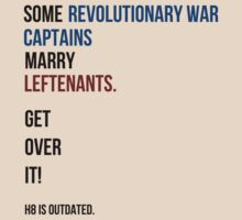 some revolutionary war captains marry leftenants by SallySparrowFTW