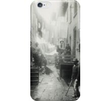 Bandit's Roost by Jacob Riis iPhone Case/Skin
