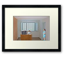 Wow......you really DO have writer's block!! Framed Print