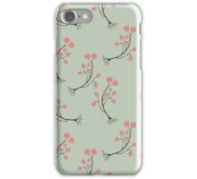 Dancing Pink Flower Sprigs iPhone Case/Skin