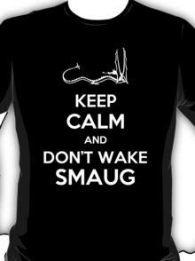 Keep Calm and Don't Wake Smaug T-Shirt