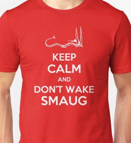Keep Calm and Don't Wake Smaug Unisex T-Shirt