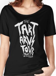 The Tartarus Tour (White Text) Women's Relaxed Fit T-Shirt