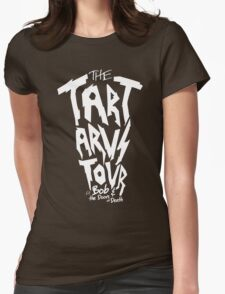 The Tartarus Tour (White Text) Womens Fitted T-Shirt