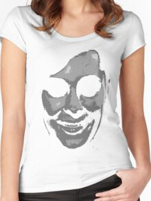 'Face' 4 (Alternative) Women's Fitted Scoop T-Shirt