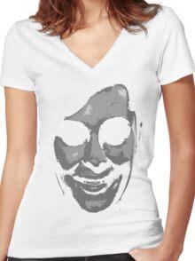 'Face' 4 (Alternative) Women's Fitted V-Neck T-Shirt