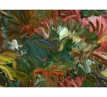 Color Cornucopia Generative Abstract Digital Painting  Photographic Print