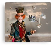 Mad Hatters Tea Party Metal Print