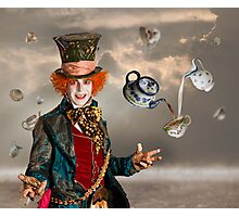 Mad Hatters Tea Party Photographic Print