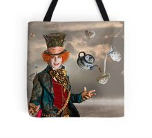 Mad Hatters Tea Party Tote Bag