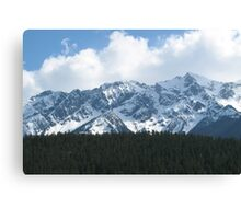 British Columbia Coastal Mountains Canvas Print