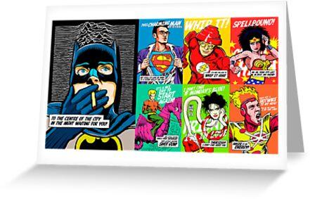 Post-Punk Super Friends Full Set 1 by butcherbilly