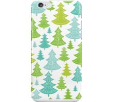 Decorative Christmas Trees Pattern iPhone Case/Skin