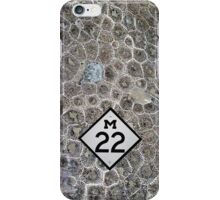 Petoskey Stone, M22, Pure Michigan iPhone Case/Skin