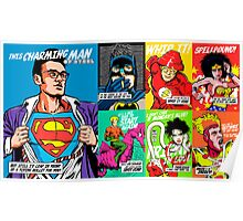 Post-Punk Super Friends Full Set 2 Poster