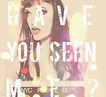 Have You Seen Me? Revolver Kickstarter Print by hispurplegloves