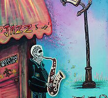 The New Orleans Skeleton Club by Laura Barbosa