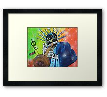 Play That Funky Music Framed Print